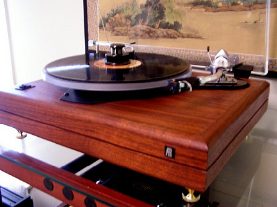 Eric S Modded Table Ar Turntable Vinyl Nirvana Acoustic